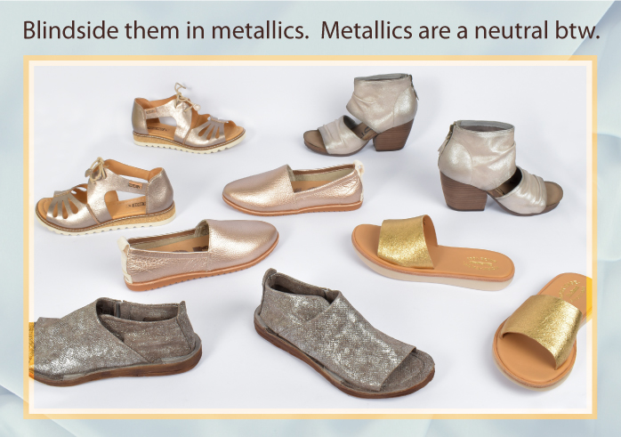 Blindside them in metallics. Metallics are a neutral btw.