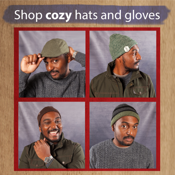 Imeldas website - mens' hats and gloves